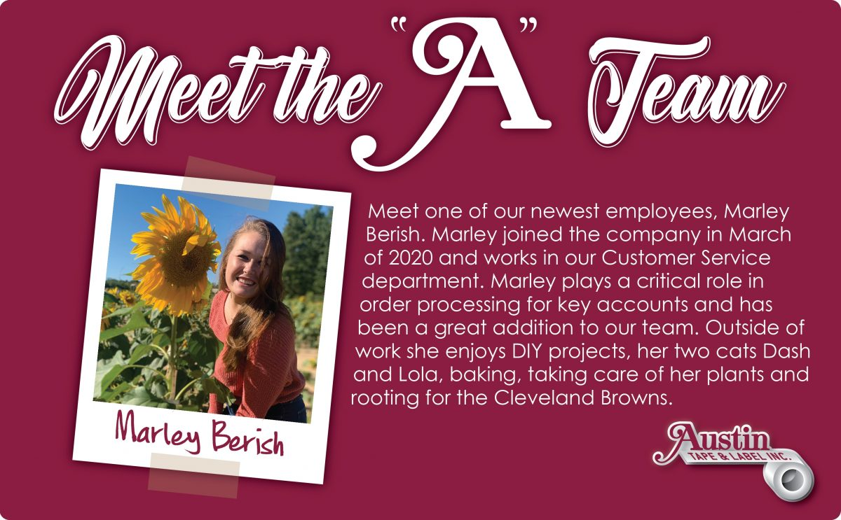 Employee Spotlight: Marley Berish